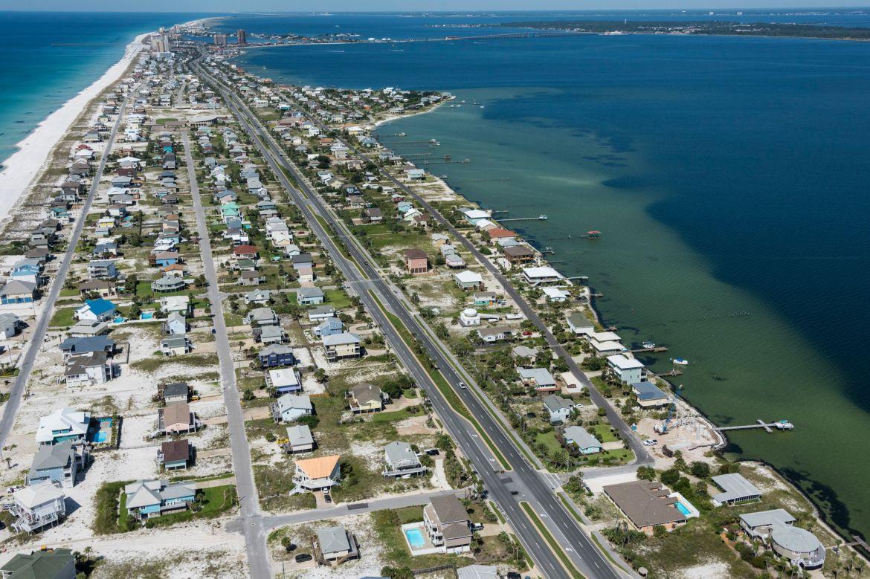 Pensacola Beach Sound Side Houses 001