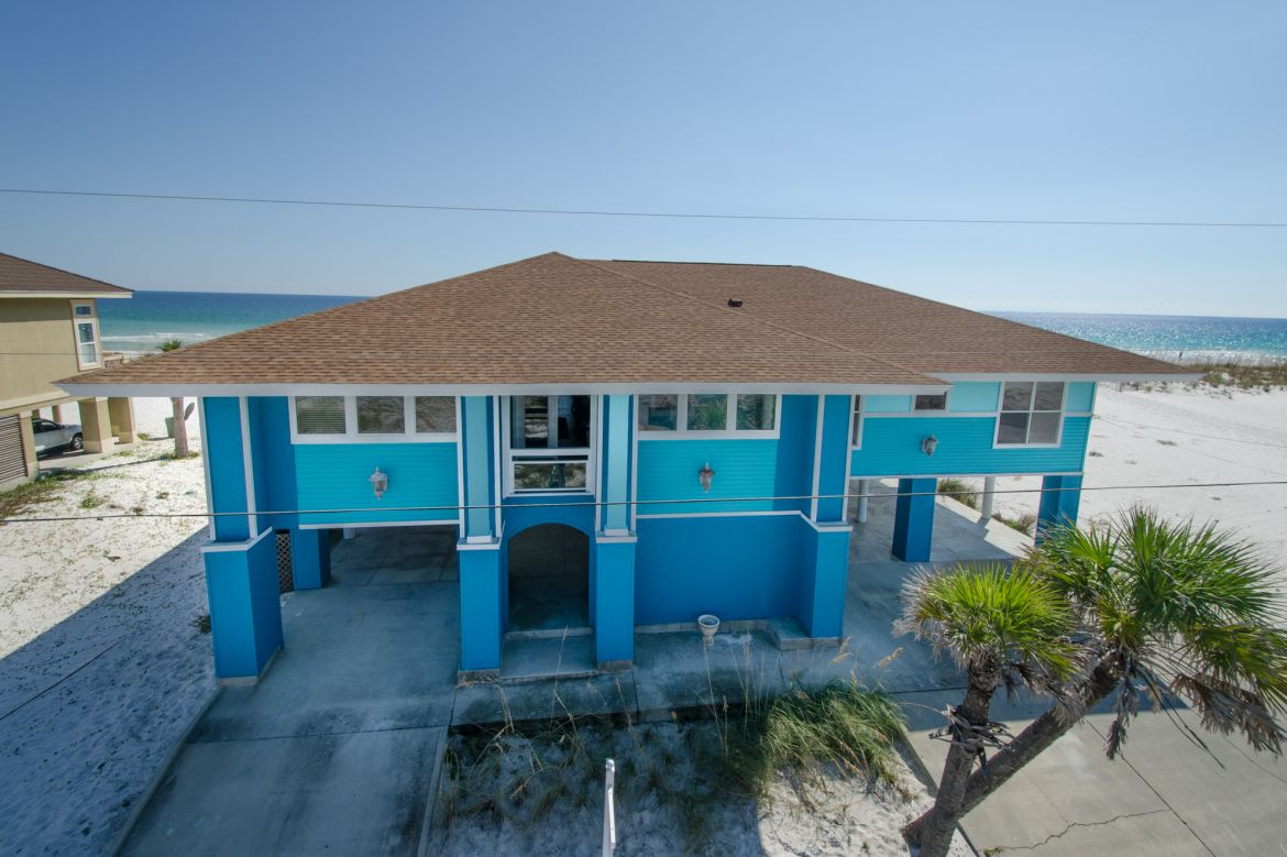 Pensacola Beach Gulf Front Houses 009
