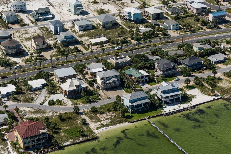 Pensacola Beach Sound Side Houses 003