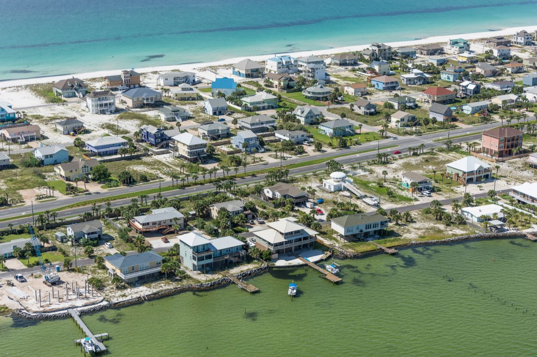Pensacola Beach Sound Side Houses 002