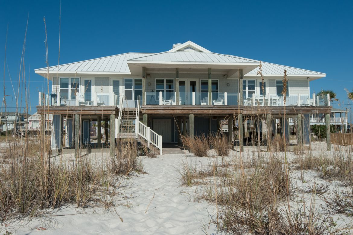 Pensacola Beach Gulf Front Houses 012