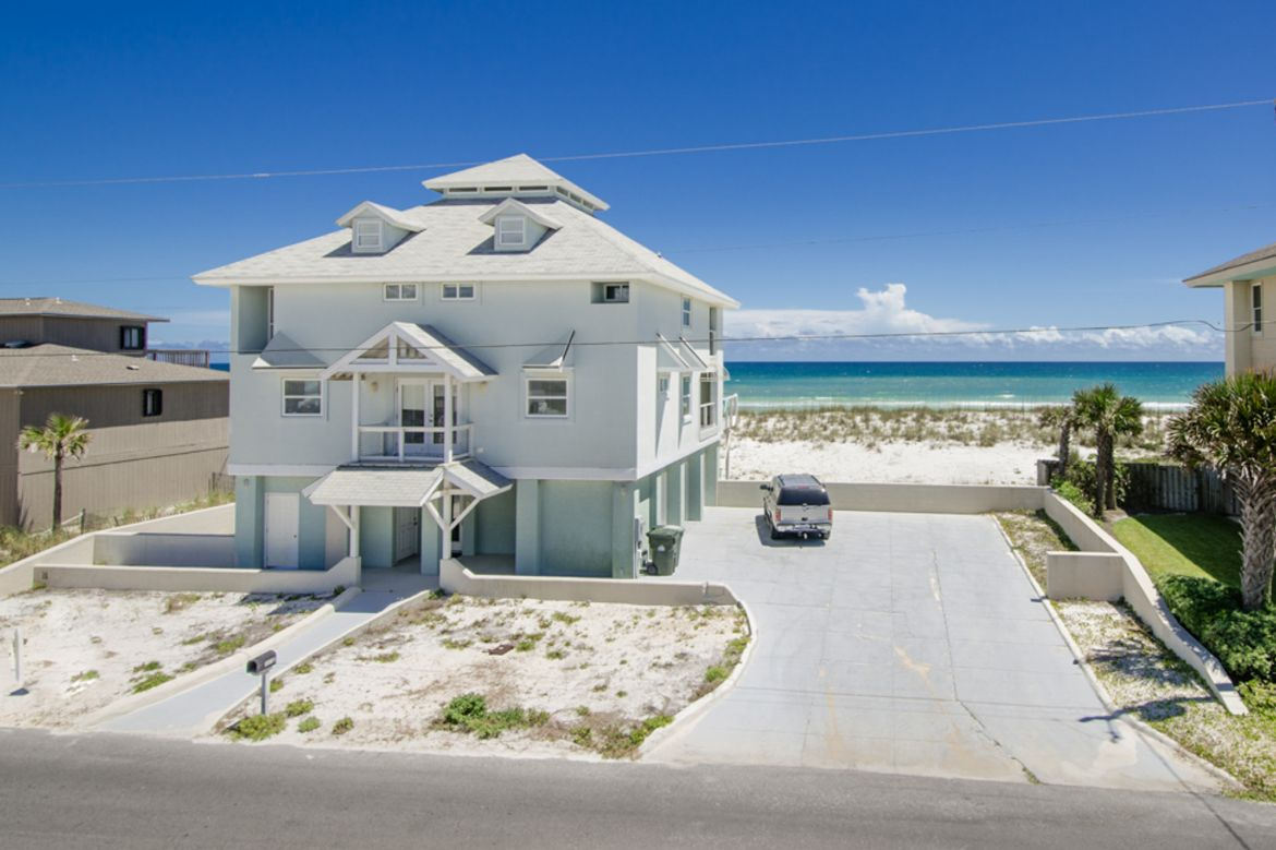 Pensacola Beach Gulf Front Houses 005