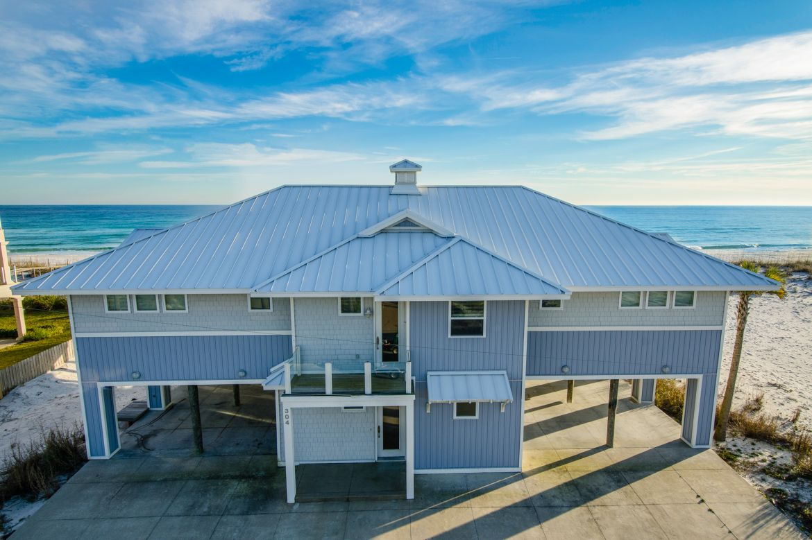 Pensacola Beach Gulf Front Houses 011