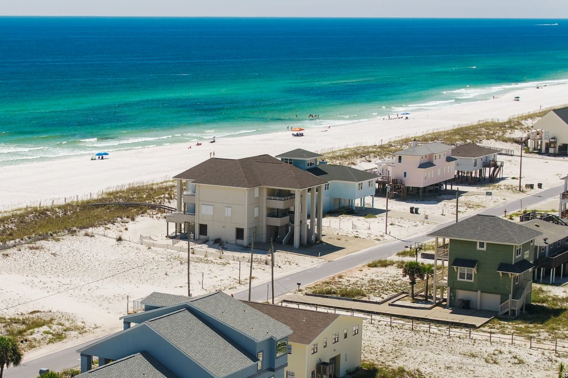 Pensacola Beach Gulf Front Houses 008