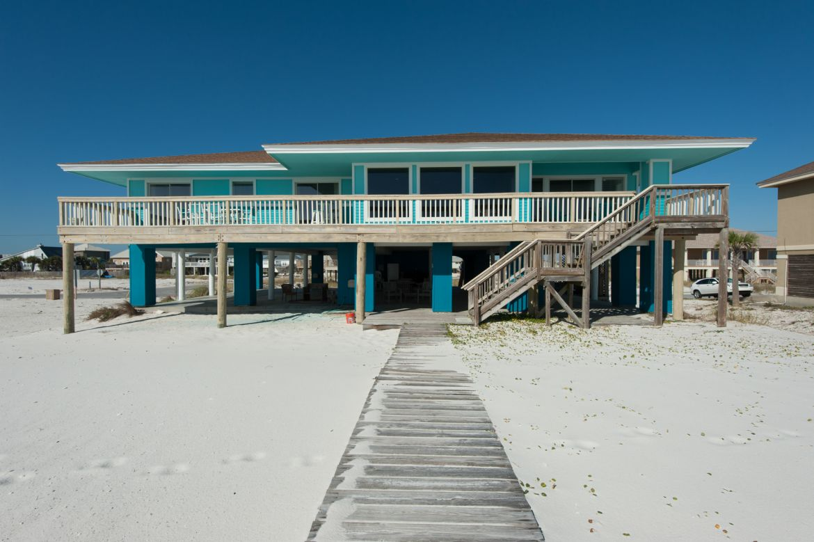 Pensacola Beach Gulf Front Houses 010